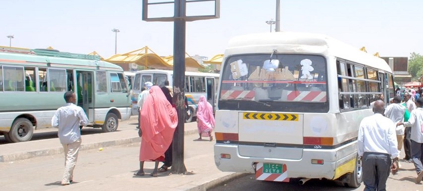 Bus station in Khartoum (file photo)