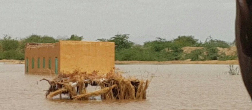 Flooding of El Gash river in Kassala State, eastern Sudan (16 July 2016 RD)