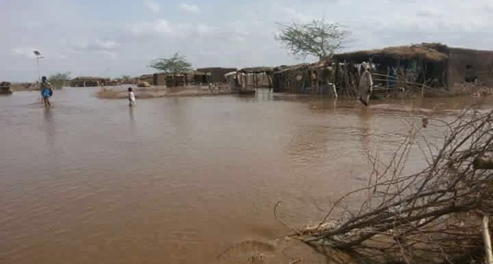 Flooding of El Gash river in Kassala State, eastern Sudan (RD)