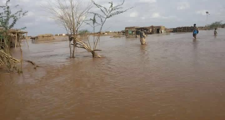 Flooding of El Gash river in Kassala State, eastern Sudan, July 2016 (RD)