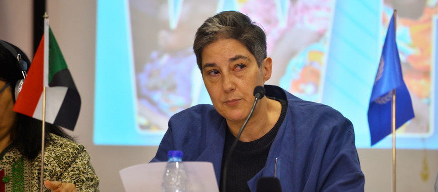 United Nations Resident and Humanitarian Coordinator in Sudan, Marta Ruedas (File photo: OCHA)