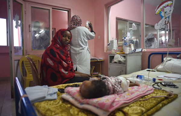 File photo: Jafar Ibn Ouf Children's Hospital in Khartoum (Jason Patinkin)