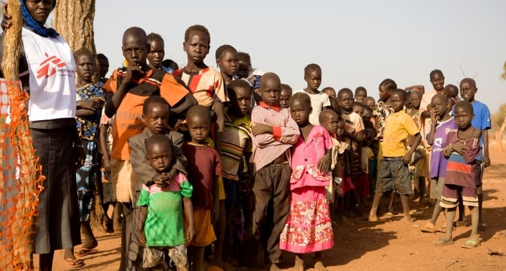 Yida camp residents in February 2015 (Karin Ekholm/MSF)