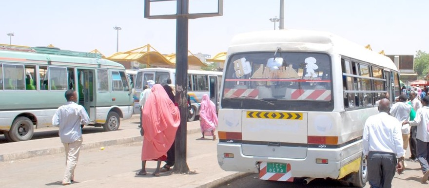 Sudanese bus station (file photo)