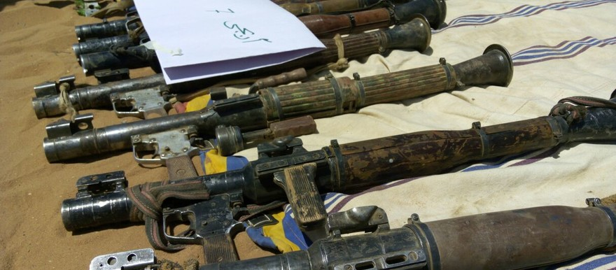 RPG-7* rocket launchers captured in Darfur (File photo)