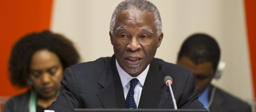 African Union High-level Implementation Panel (AUHIP) chairman Thabo Mbeki (file photo)
