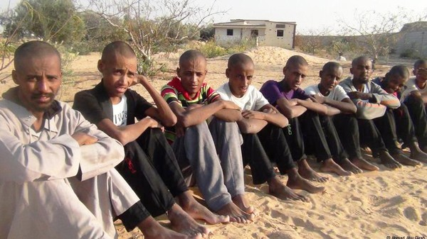 Victims of human trafficking released in Sudan (File photo)