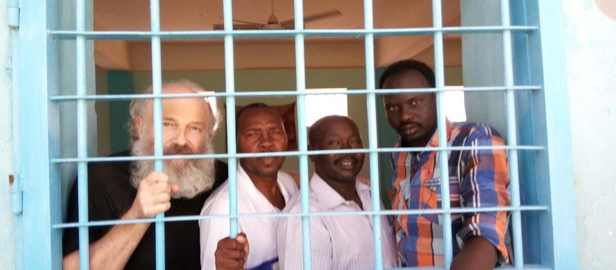 The defendants in the case against three Sudanese and a Czech Pastors and Christian activists (File photo: HUDO)