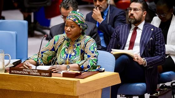 ICC Prosecutor Fatou Bensouda delivered its 25th report before the United Nations Security Council on the Situation in Darfur (ICC)