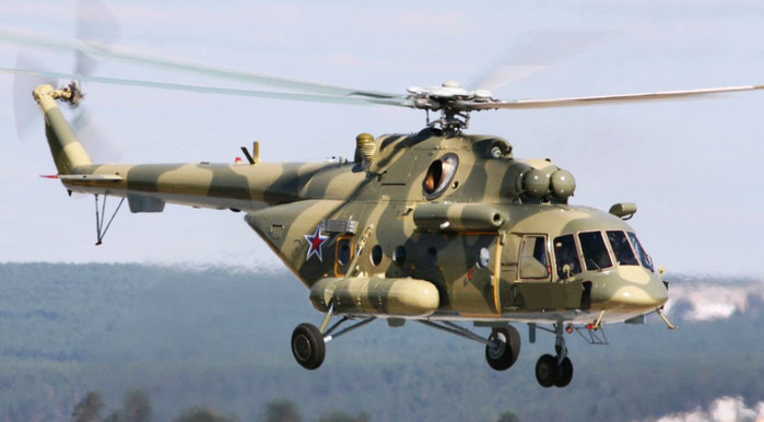 A Russian Mi-17 medium transport helicopter as used by the Sudanese Armed Forces (File photo: liveinternet.ru)