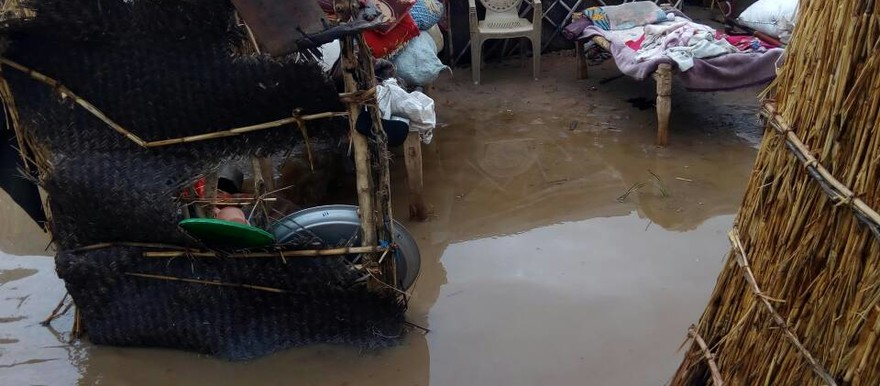 Heavy rains flood Kalma camp in Nyala, South Darfur [see more pictures below] (RD Correspondent)