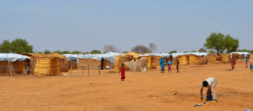 The El Nimir camp for South Sudanese refugees in East Darfur (UN OCHA)