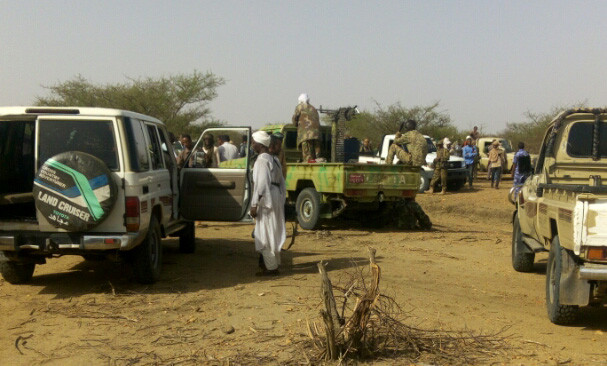 Militiamen gather in Central Darfur (RD)