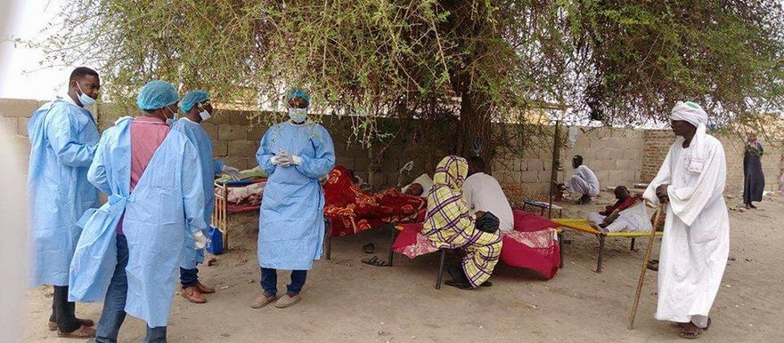 Isolation ward in White Nile state (AP)