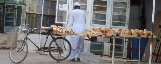 Bread for sale in Khartoum (file photo)