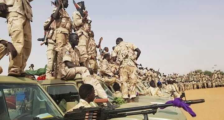 Arrival of the Rapid Support Forces (RSF) in the capital of North Darfur, El Fasher, on 12 October (RD)
