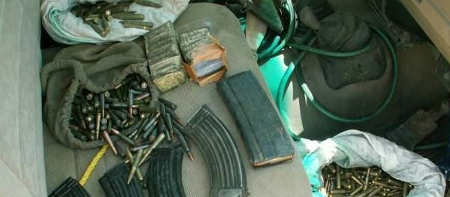 Weapons and ammunition in Darfur (file photo)