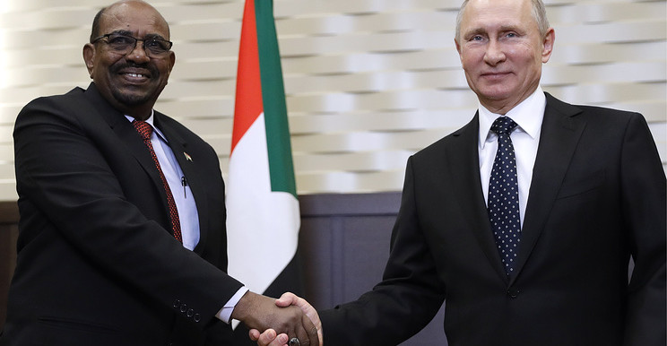 Bashir meets Putin in Sochi last week (Picture: TASS)