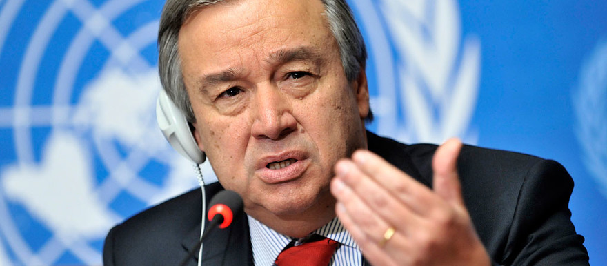 The United Nations Secretary-General António Guterres (UN Photo)