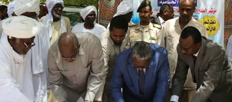 Falata and Salamat leaders sign a peace agreement in Buram (SUNA)