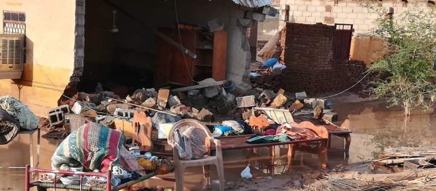 Flood devastation in Sudan (RD)