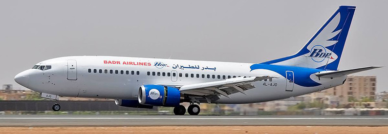 An aircraft of Badr Airlines, a private airline based in Khartoum (ch-aviation.com)