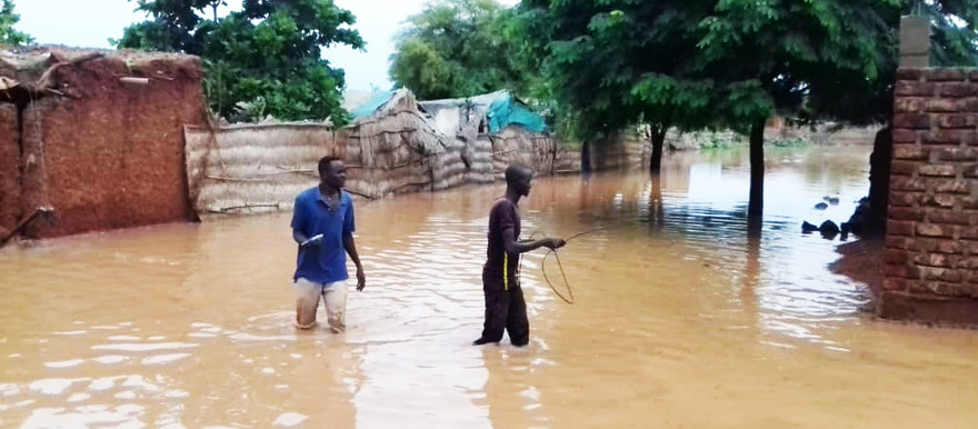 Floods in Sennar state in August 2018 (RD)