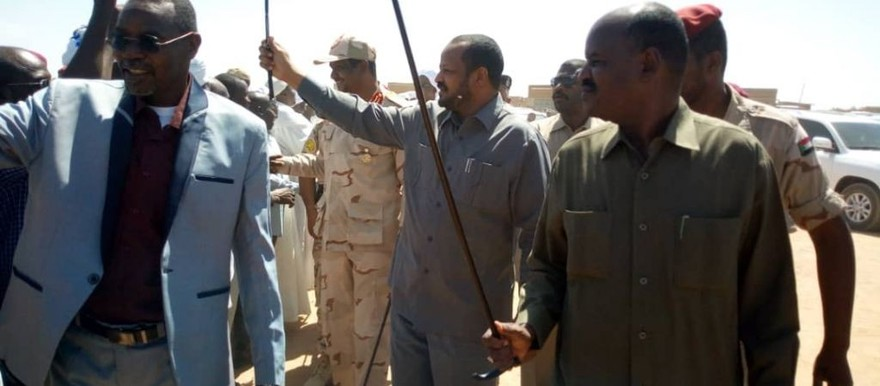 Visit of North Darfur government officials, RSF leadership to camps in North Darfur on November 5 (RD)