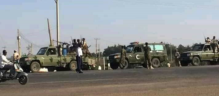 Troops enter Khartoum in anticipation of today's mass rally