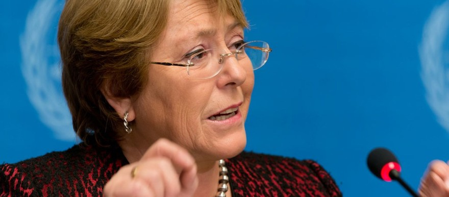 UN High Commissioner for Human Rights Michelle Bachelet (UN photo)
