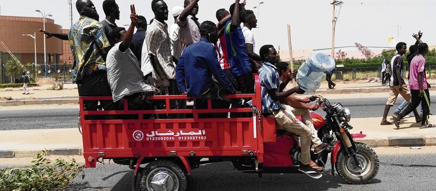 Sudanese demonstrators have been calling for the overthrow of Al Bashir and his regime since mid-December 2018 (AFP)