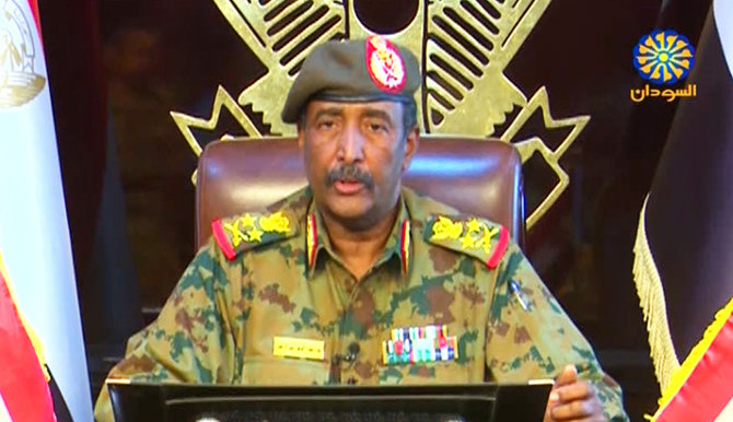 Lt Gen Abdelfattah El Burhan, chairman of Sudan's Military Council (Arab News)
