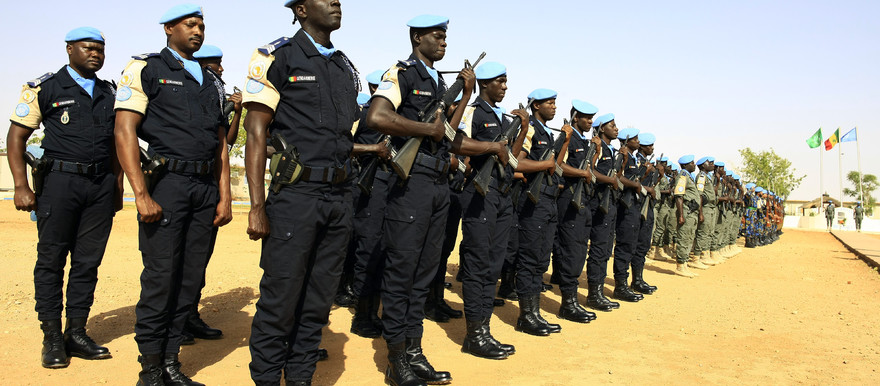 Senegalese peacekeepers in El Geneina (File photo: Muntasir Sharafadin / Unamid)