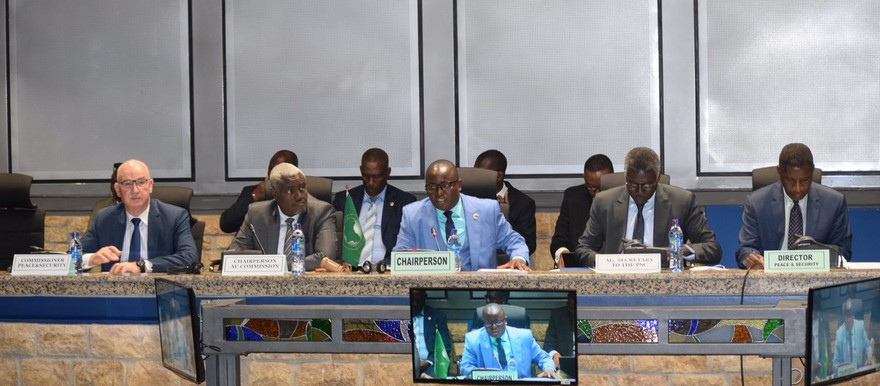 The 854th meeting of the AU Peace and Security Council on the situation in Sudan, June 6, 2019 (peaceau.org)
