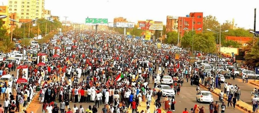Image result for march of millions sudan