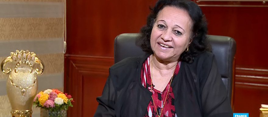 Sovereign Council member Rajaa Abdelmaseeh interviewed by France 24 on Wednesday
