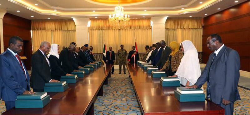 New Sudan Cabinet Ministers take oath of office on Saturday (SUNA)