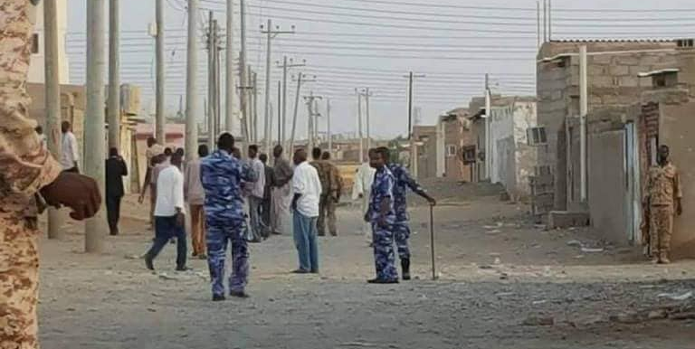 Tension between Nuba and Beni Amer tribesmen in Port Sudan in the end of August (Social media)