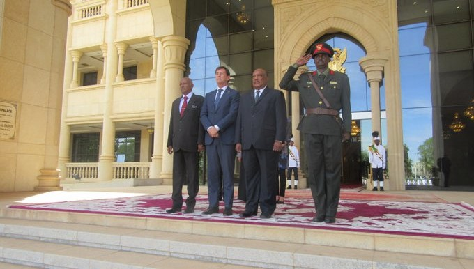 New EU Ambassador to Sudan presents his credentials (EU Delegation)