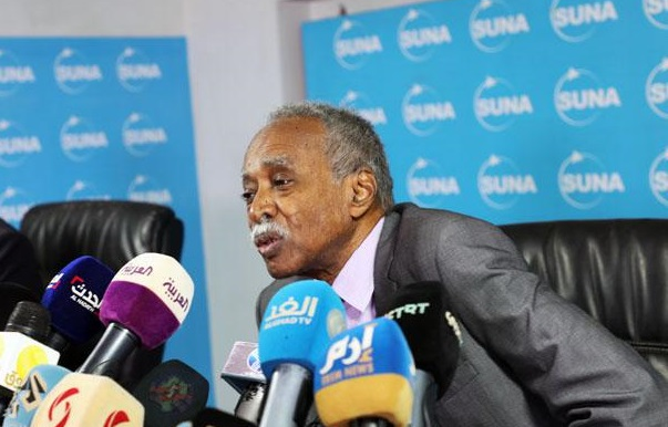 Sudanese Minister of Education Mohamed El Amin El Tom at the press forum of the Sudan News Agency on November 9, 2019 (SUNA)