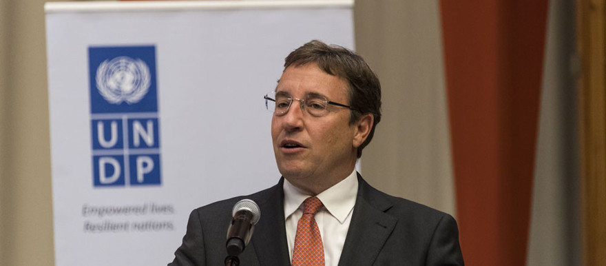 Achim Steiner, head of the United Nations Development Programme (File photo: UNDP/Freya Morales)