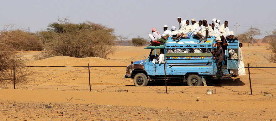No passenger transport in Sudan between 8 pm to 6 am (File photo: Retlaw Snellac / Creative commons)