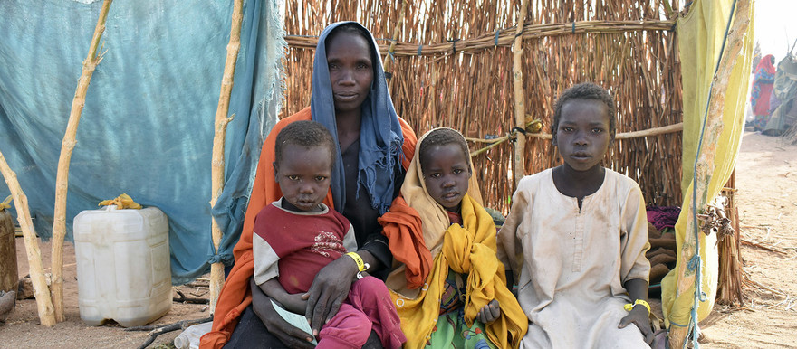 Violence in West Darfur has forced thousands of Sudanese across the border into Chad (Photo: UNHCR / Aristophane Ngargoune)
