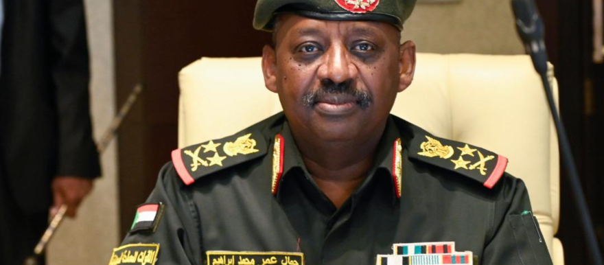 Sudan's Minister of defence, Lt Gen Jamaleldin Omar, who died suddenly in Juba this morning (SUNA)