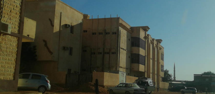 The Elban Jadeed Hospital, founded by the former Health Minister of Khartoum, Mamoun Hemeida (@imadj-mapillary.com)