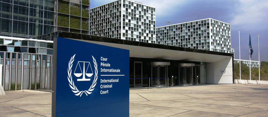 The International Criminal Court in The Hague, the Netherlands (RD)