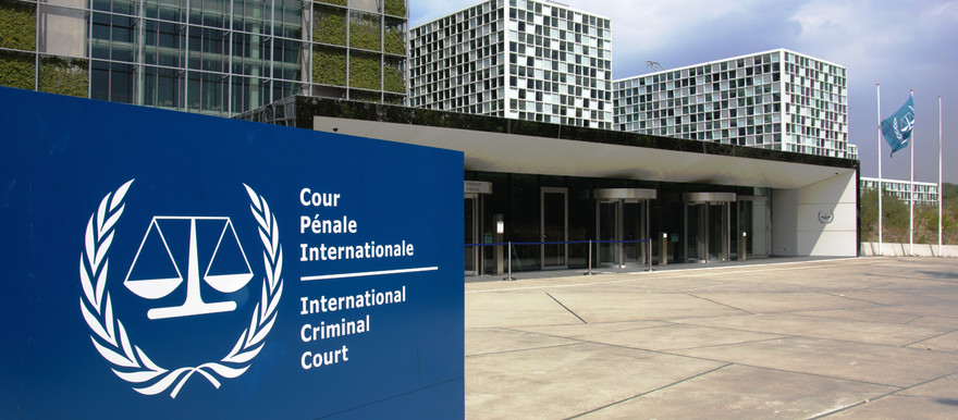 The International Criminal Court in The Hague (RD)