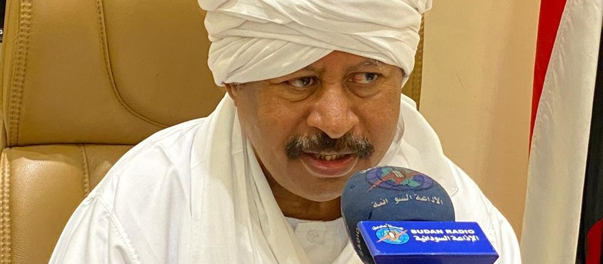 PM Abdallah Hamdok being interviewed by Radio Omdurman, August 21 (SUNA)