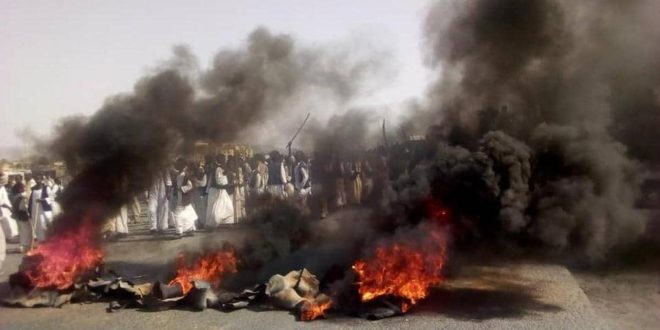 Kassala witnessed violence and chaos on Thursday (Social media)