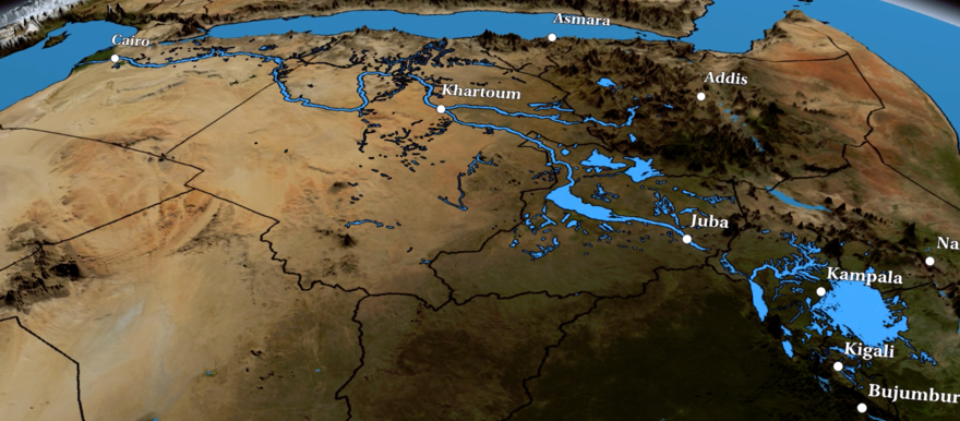Overview of the Nile Basin (NASA)